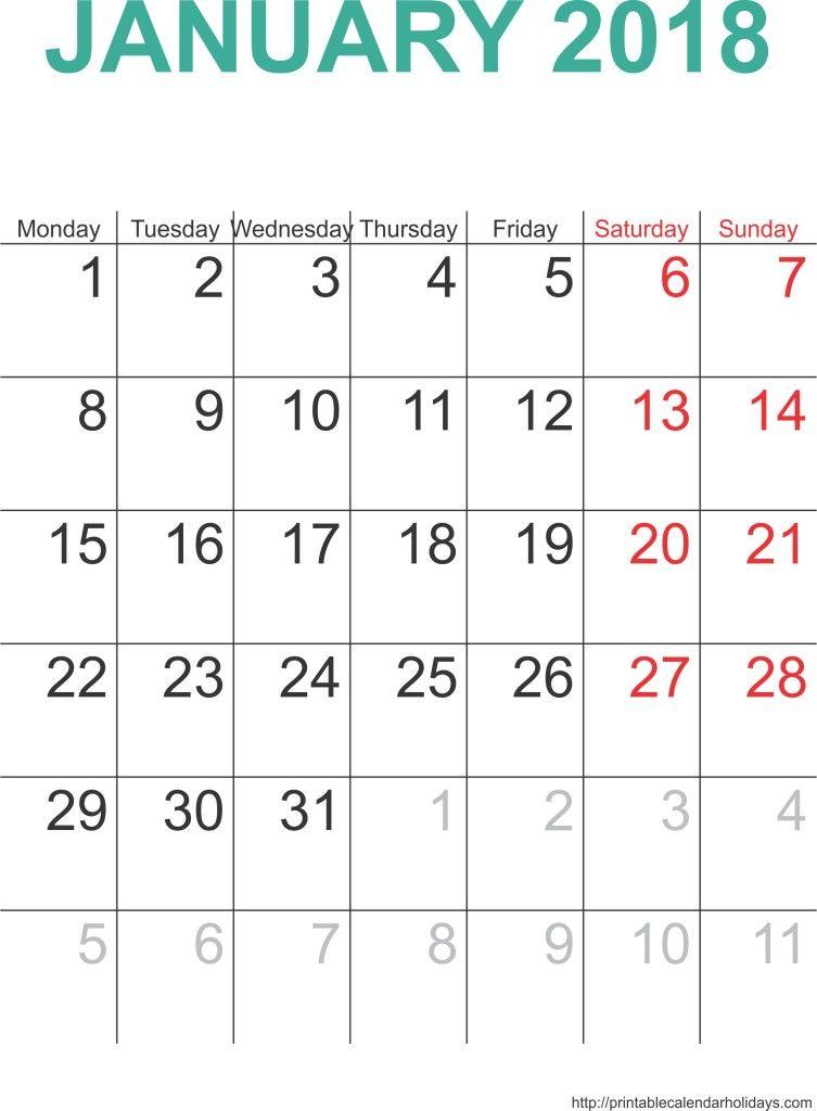January  Calendar Free  January  Calendar Free