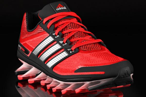 Adidas Springblade Razor Running Shoes Red Black Mens Fresh Style
