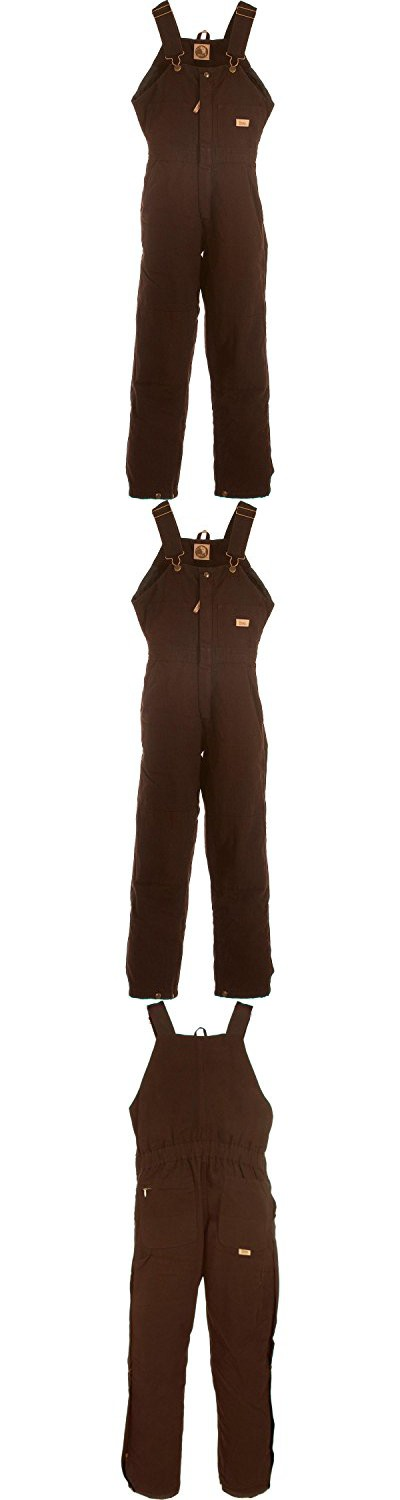 berne women s washed insulated bib overalls short dark on womens insulated bib overalls id=99646