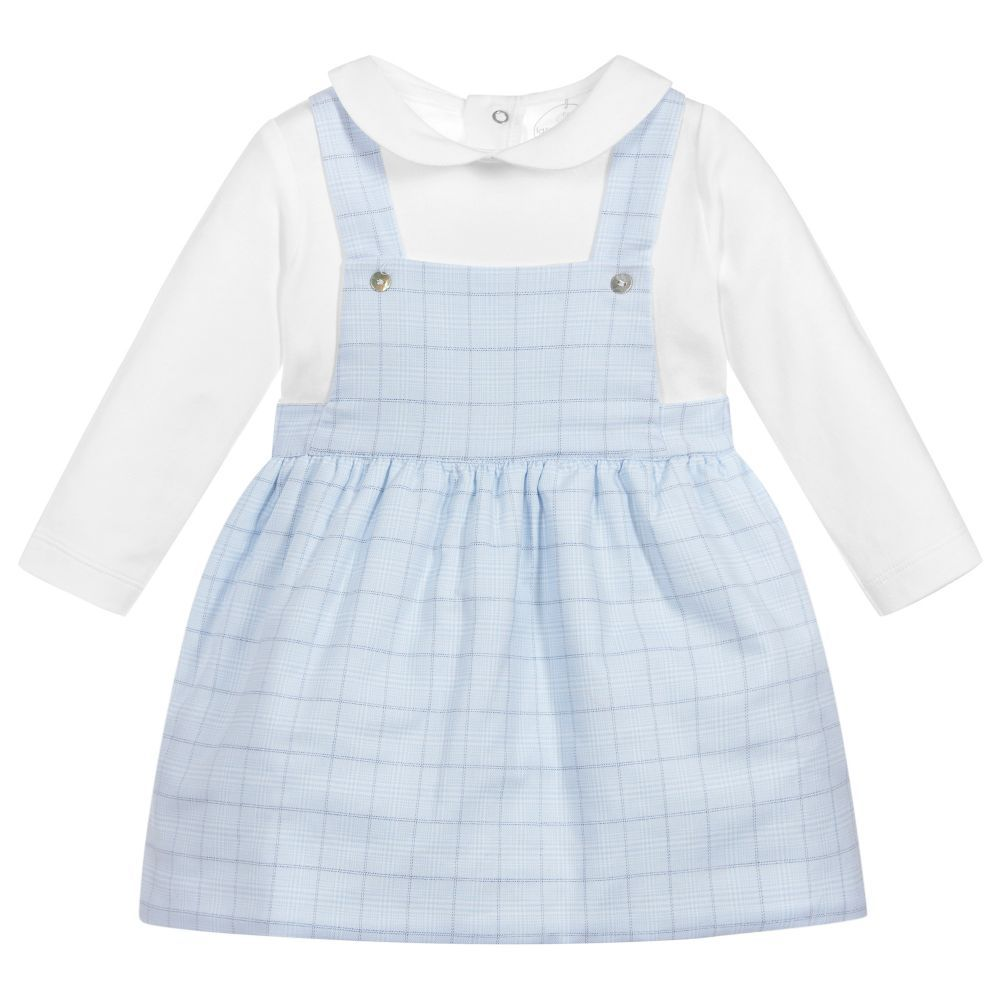 8fb6239f0be2 Baby Girls Cotton Dress Set for Girl by Laranjinha. Discover more ...