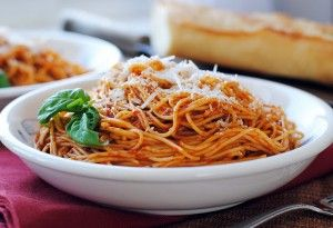 Linguine Bolognese Recipe Receipes Pinterest Pasta Food And