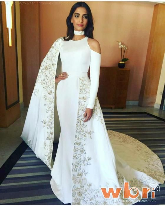 Sonam kapoor steals the show on cannes red carpet photo feature at http also best dresses images in rh pinterest
