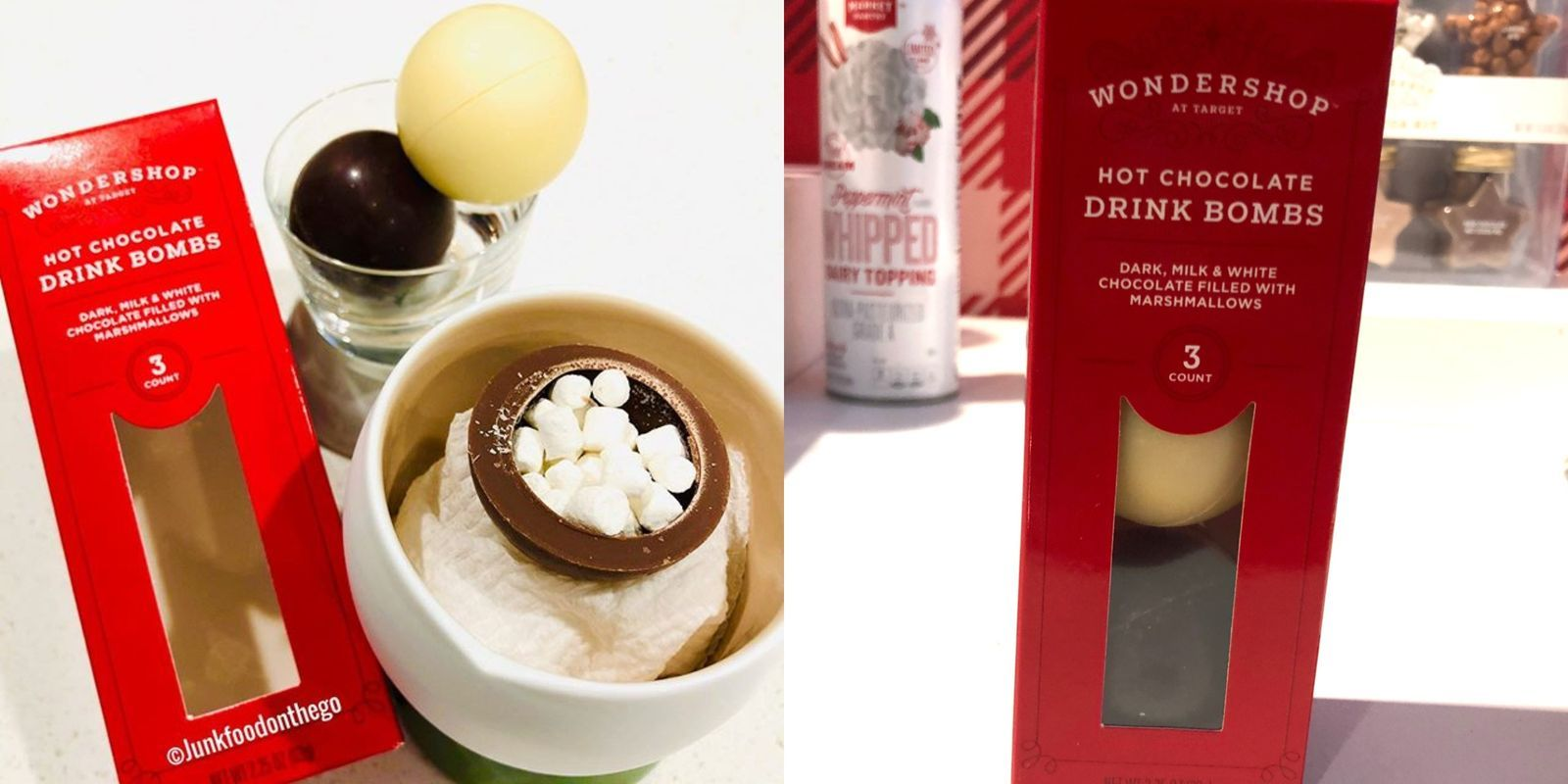 Target Is Selling Hot Cocoa Drink Bombs That Fill Your Mug