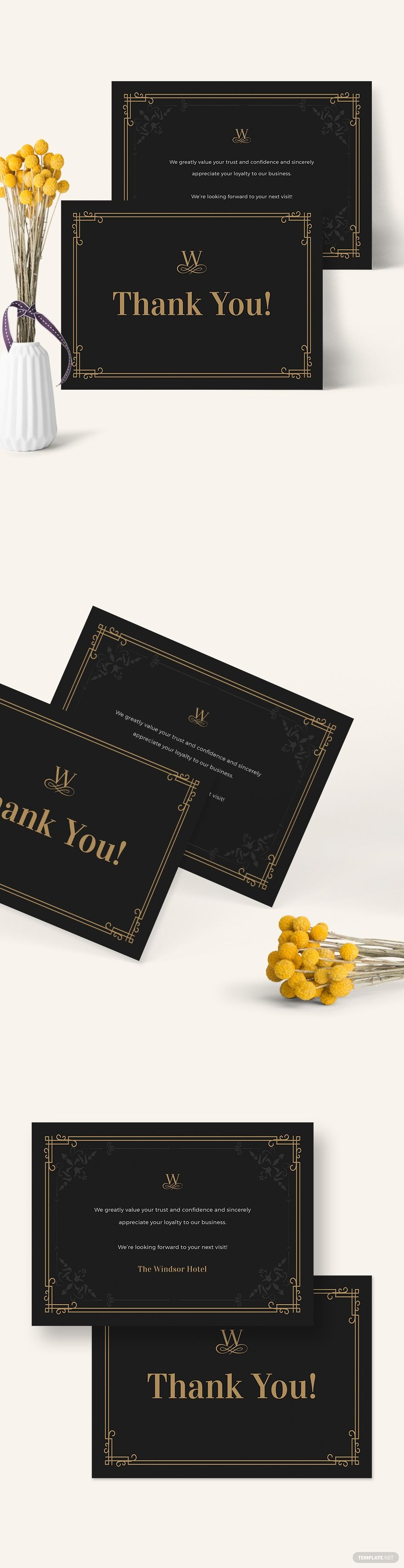 Vintage Thank You Card Template Ad Affiliate Vintage Card Template Happy Valentines Day Card Thank You Card Template Valentines Day Cards Handmade