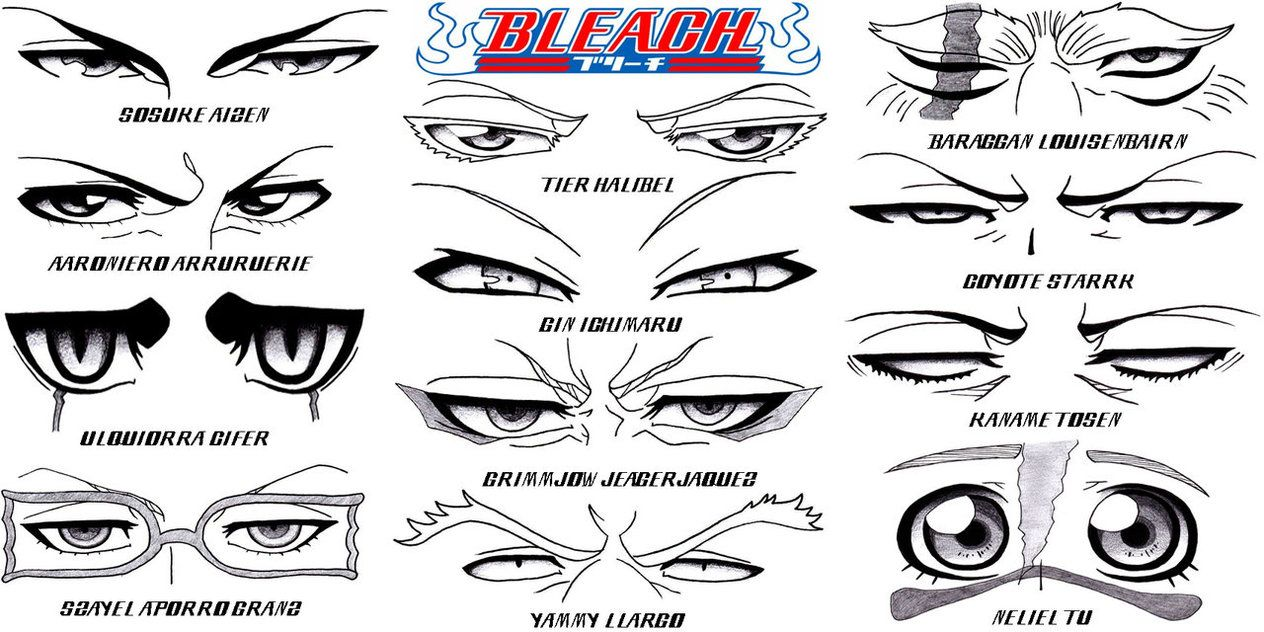 Eye set bleach part 3 hueco mundo by sapphire56
