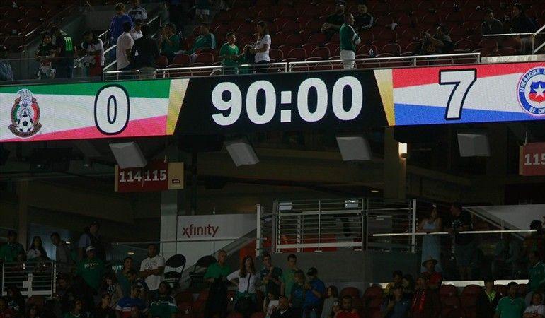 Chile 7 México 0 , Copa América Centenario USA 2016