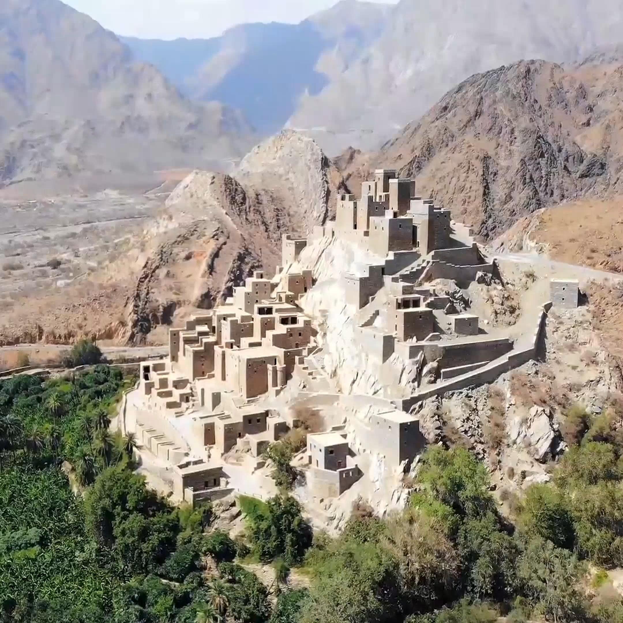 Dhy Ain Village Al Baha Saudi Arabia Video In 2021 Saudi Arabia Culture Baha Saudi Arabia