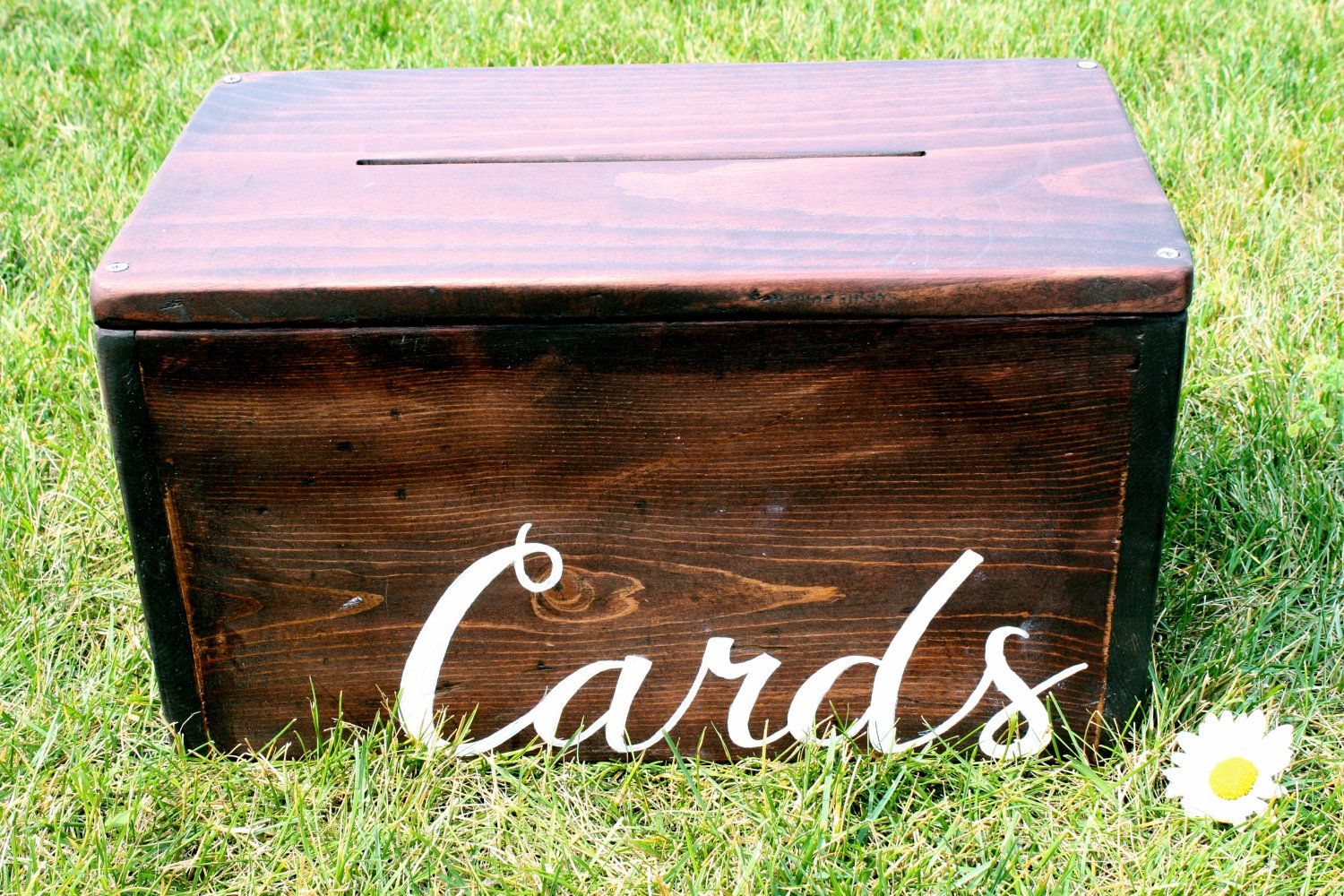Custom Wedding Card Box Personalized One Of A Kind Wooden