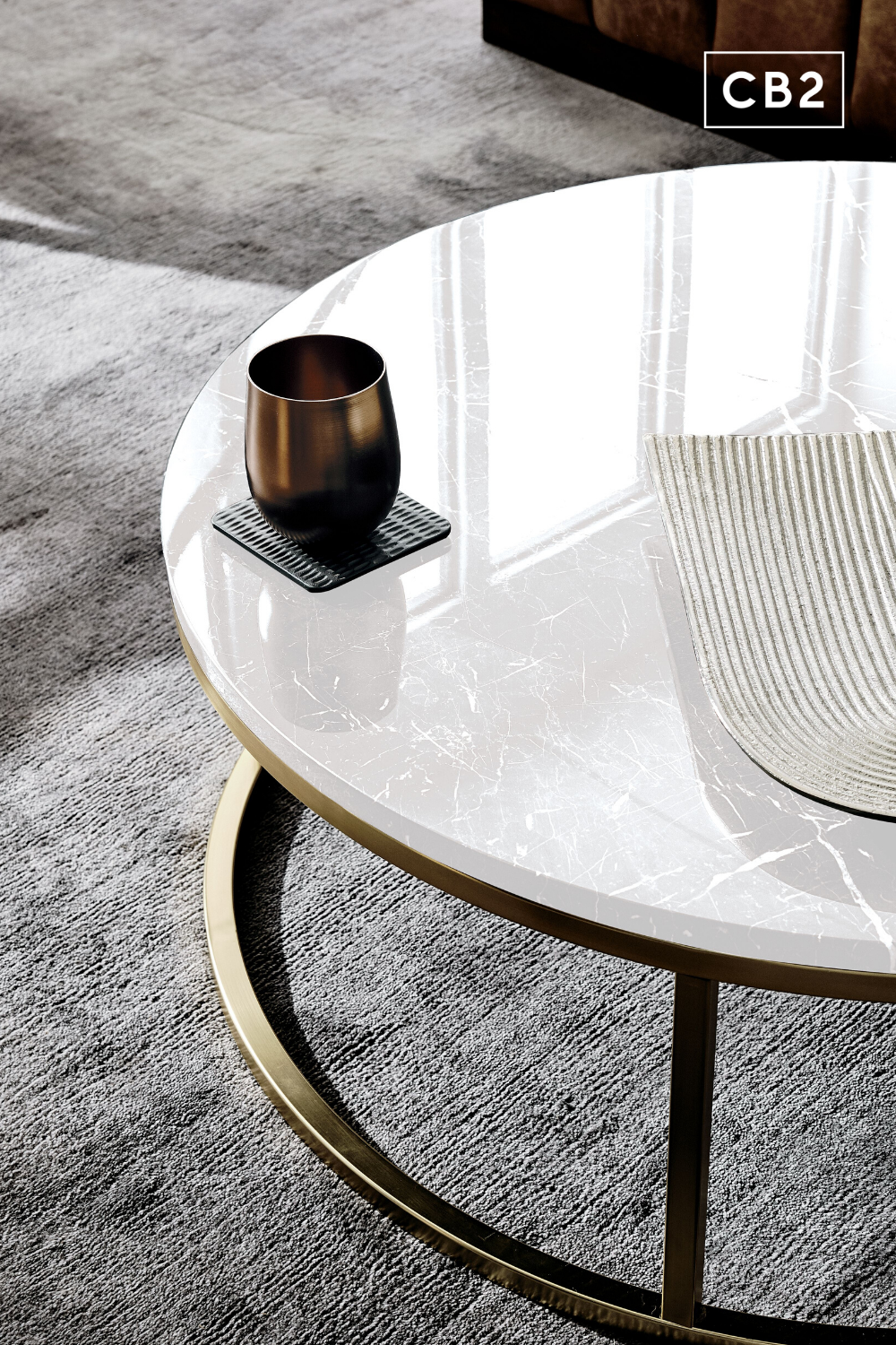 Smart Round Marble Brass Coffee Table Reviews Cb2 Coffee Table Brass Coffee Table Table [ 1500 x 1000 Pixel ]