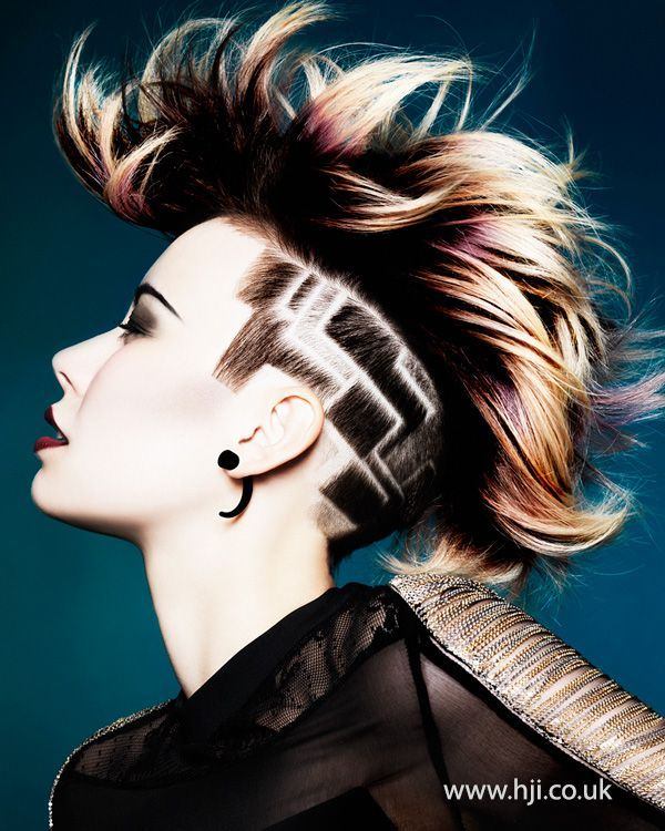 Being A Hairstylist Can Take You Places Our Future Professionals - Undercut hairstyle set