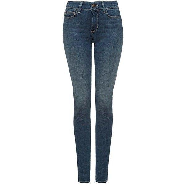 NYDJ Alina Slim Super Stretch Jeans, Sea Breeze (€190) ❤ liked on Polyvore featuring jeans, pants, bottoms, calças, slim fit jeans, mid rise jeans, slim cut jeans, nydj jeans and slim blue jeans