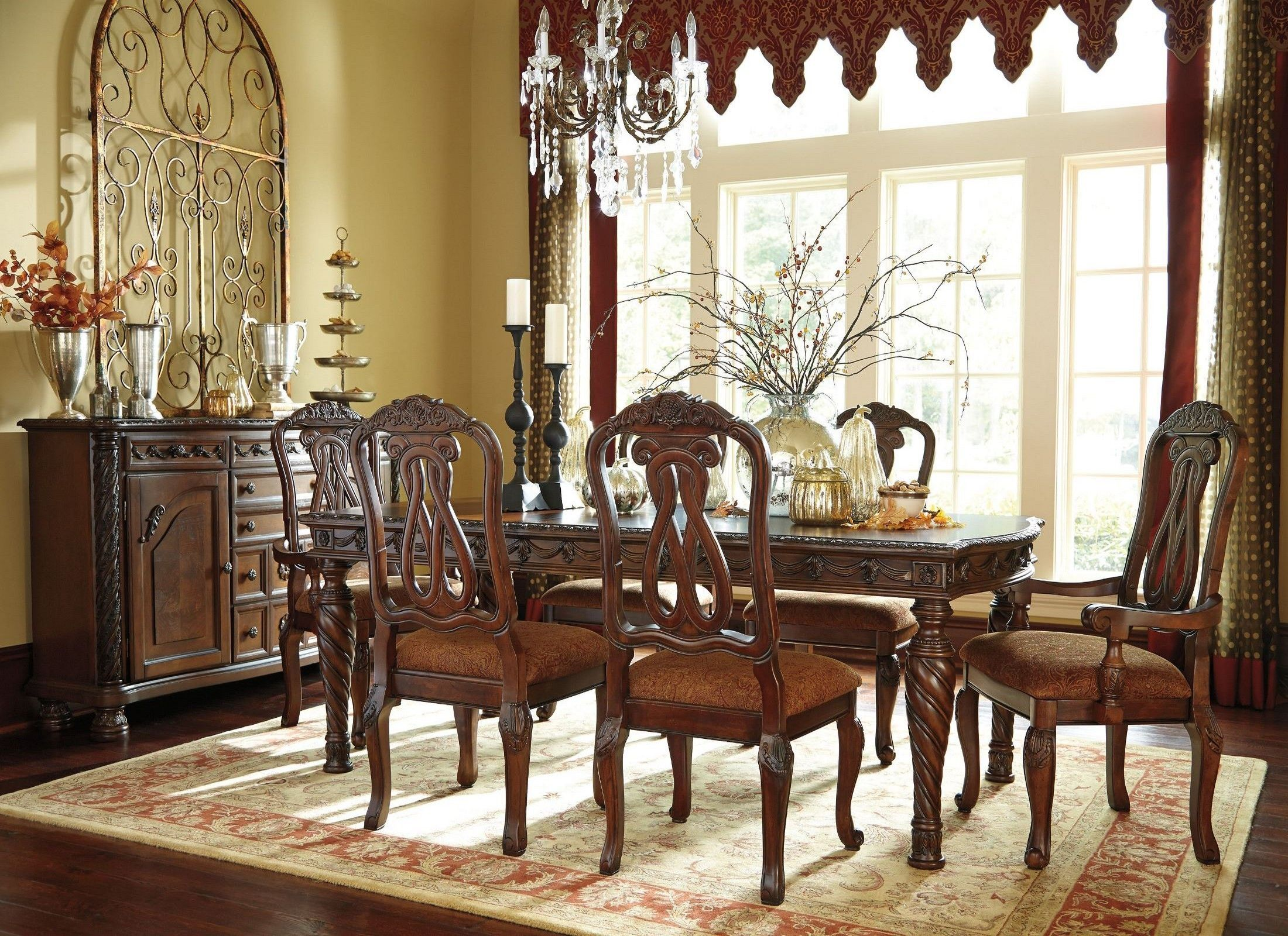 North Shore 5 Piece Dining Set By Millennium Dining Room Sets