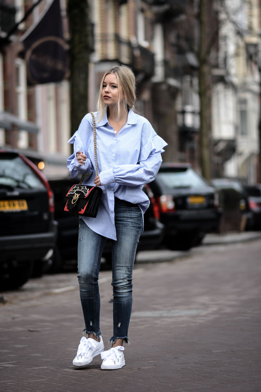 oversize shirt, Puma heart patent | Ropa, Ropa casual, Moda