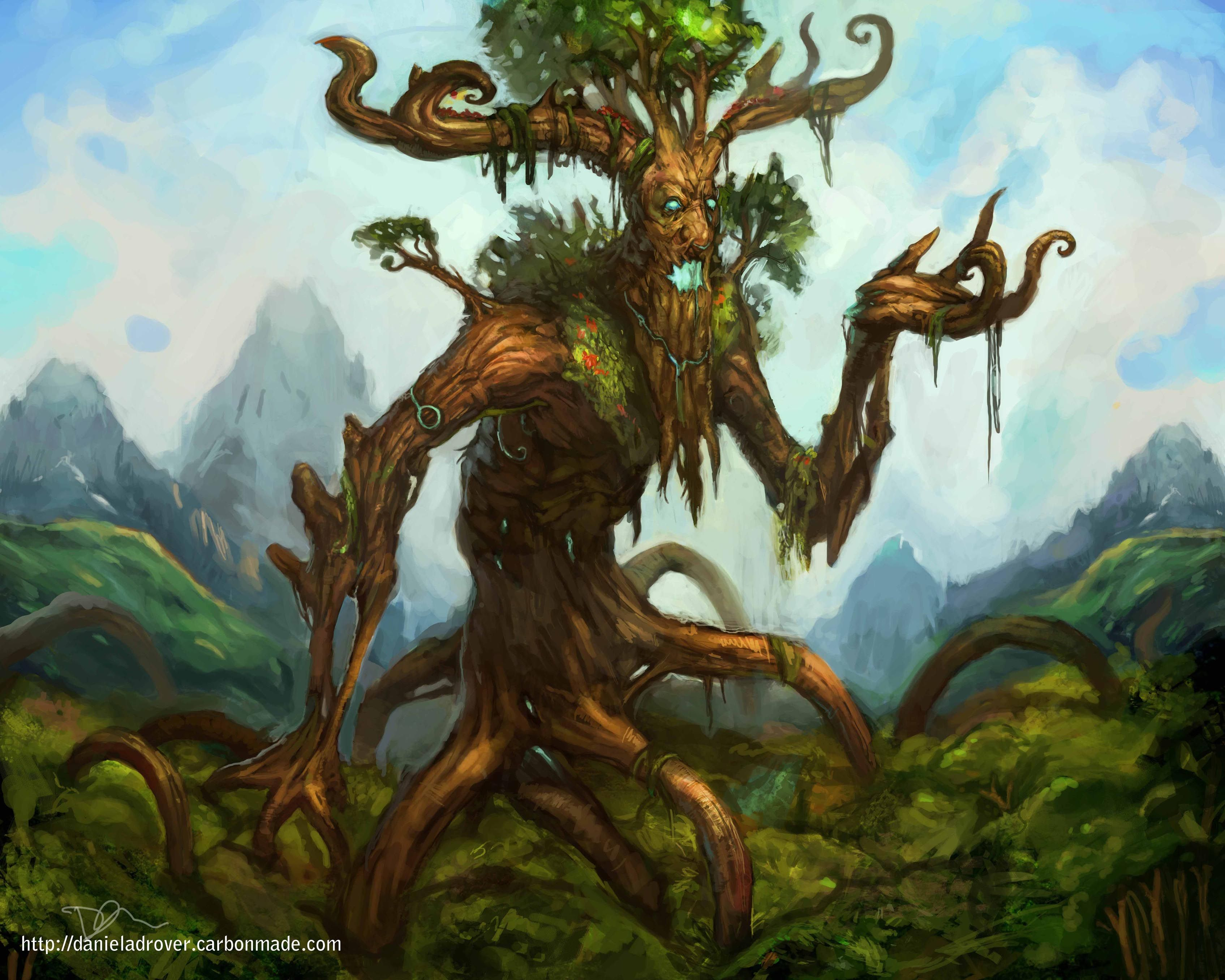 made by: Daniel Adrover , 'Tree Man' | Art - Tree People ...