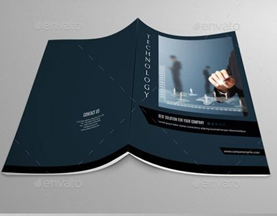 Check out new work on my @Behance portfolio  - technology brochure template