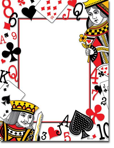 Paper So Pretty Blank Designer Papers Playing Cards Dp799 Playing Card Invitation Party Invite Template Casino Party Decorations