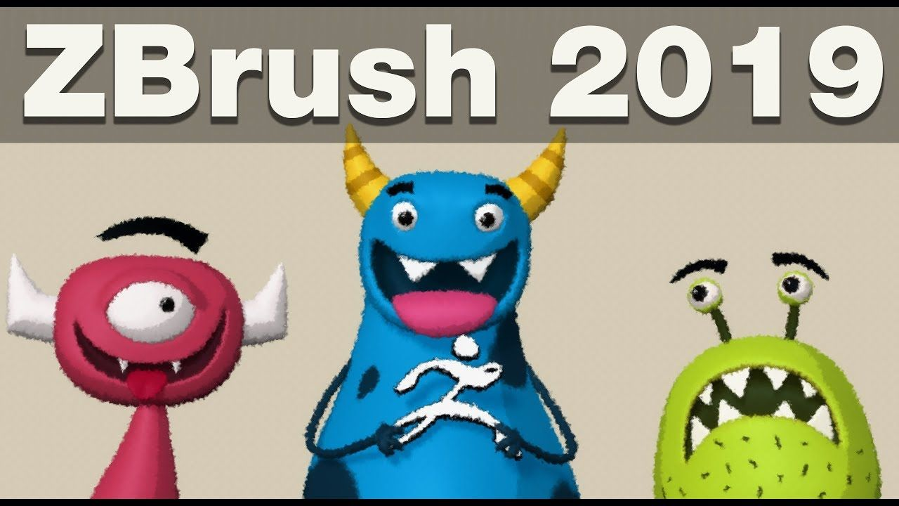 ZBrush 2019 - What's New and First Impressions | TNS zbrush