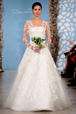 Oscar de la Renta Spring 2014 Bridal Collection  I LOVE Oscar de la Renta