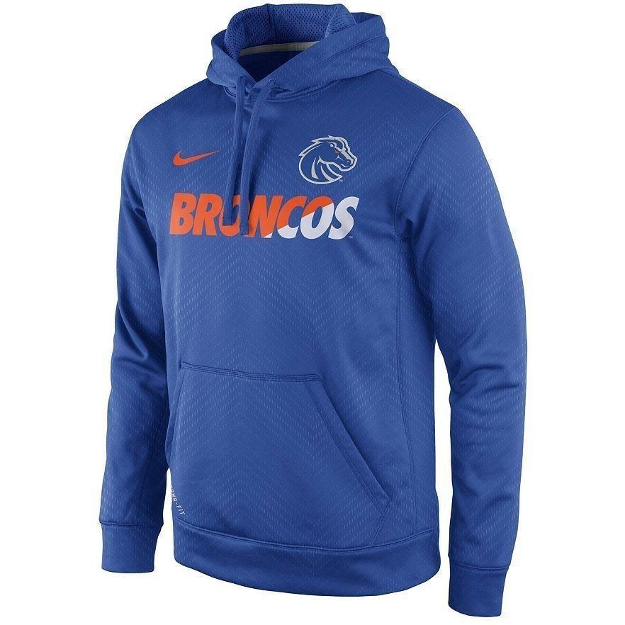 1baab79bf436 Nike Boise State Broncos Sideline Therma-FIT KO Hoodie small ADULT NWT  Nike   ShirtsTops