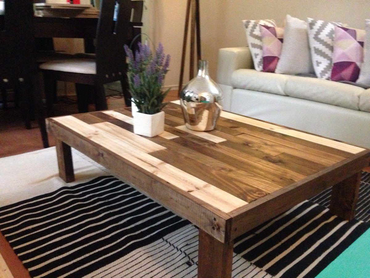 Mesa de centro con palets buscar con google mesa centro centros de mesa mesas palets - Mesas de palets ...