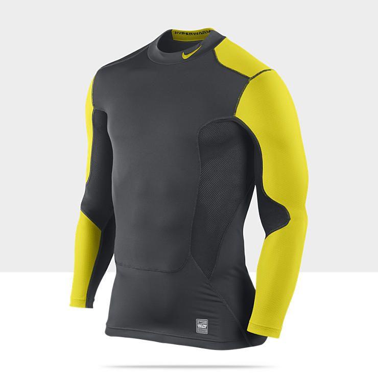 Nike Pro Combat Hyperwarm Dri Fit Compression T Shirt | AGBU