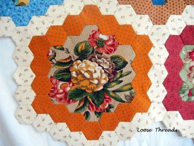 Loose Threads: Brinton Hall Center Hexagons