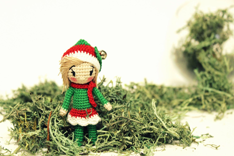 PATTERN: Christmas elf - Girl – Kristi Tullus   1000x1500