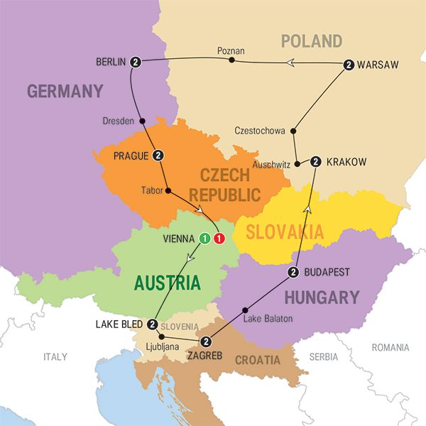 map eastern europe 2015 Pin on Vacations in Eastern Europe
