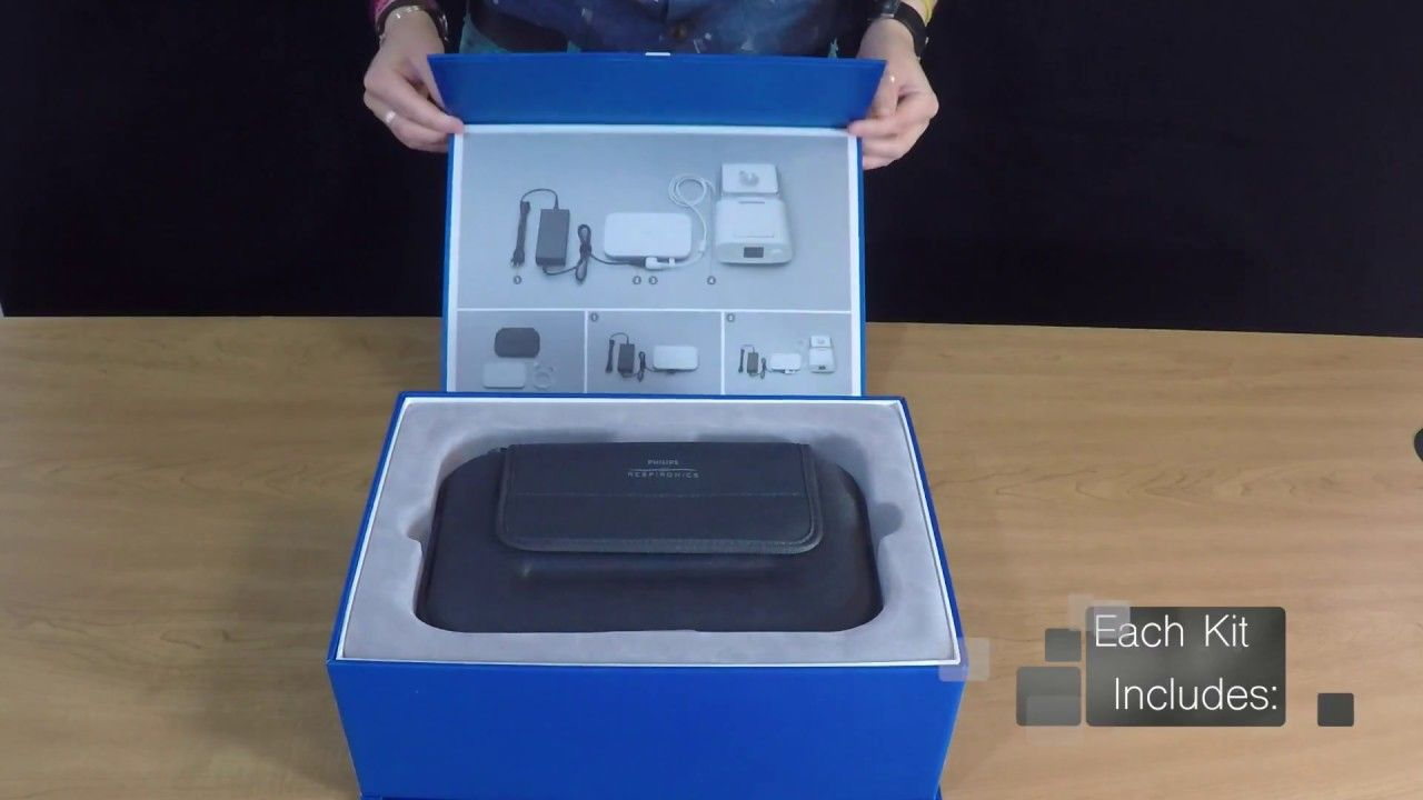 Unboxing The Philips Travel Cpap Battery Kit Directhomemedical Com Youtube Kit Cpap Philips