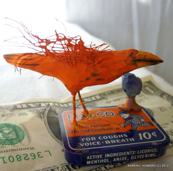 Download This lady has some awesome stuff in her shop! Check it out! 10c Orange Crow Free USA Shipping by ...