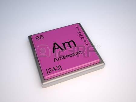 Americio Elemento químico de la tabla periódica con el símbolo Am - new tabla periodica nombre y simbolos de los elementos