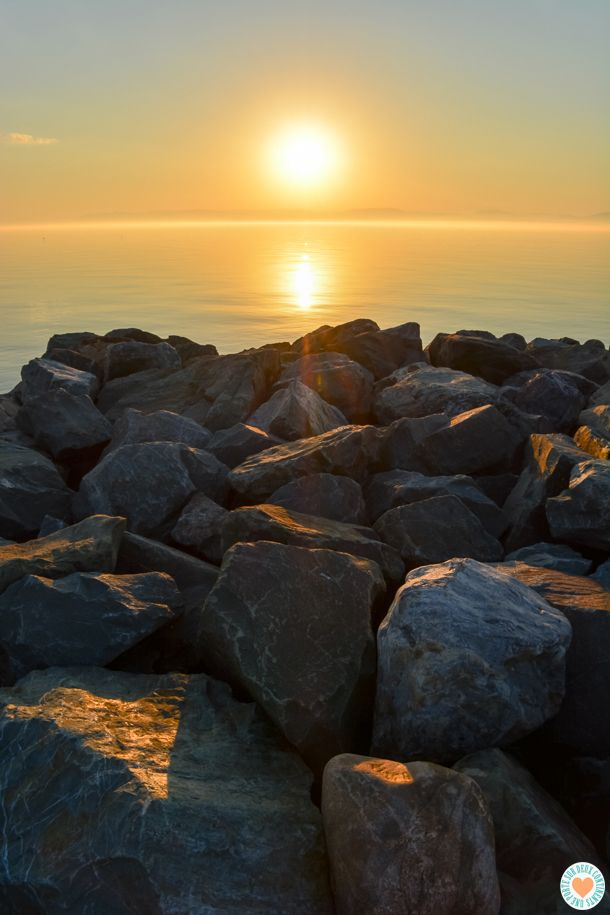 Coucher de soleil sur rivi re du loup rivi res cascades et lacs pinterest - Retour de couche peu abondant ...