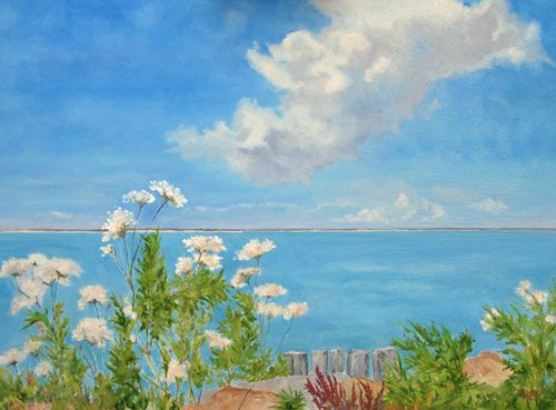 Paintings Landscapes Seascapes Beach Paintings Hamptons Scenery Landscape Paintings Beach Painting Seascape