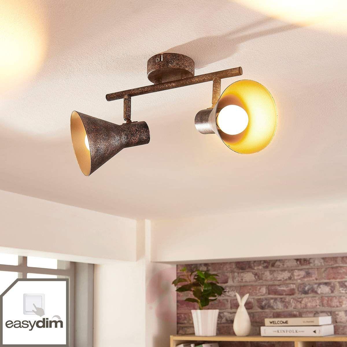 Czarno Złota Lampa Sufitowa Led Zera Easydim W 2019 Lampy