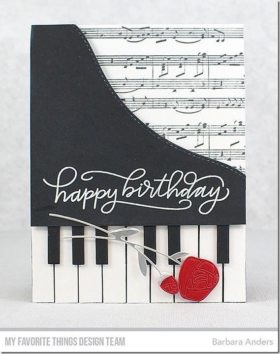 Happy Birthday Color Throwdown 459 Cards Handmade Christmas Cards Handmade Musical Cards