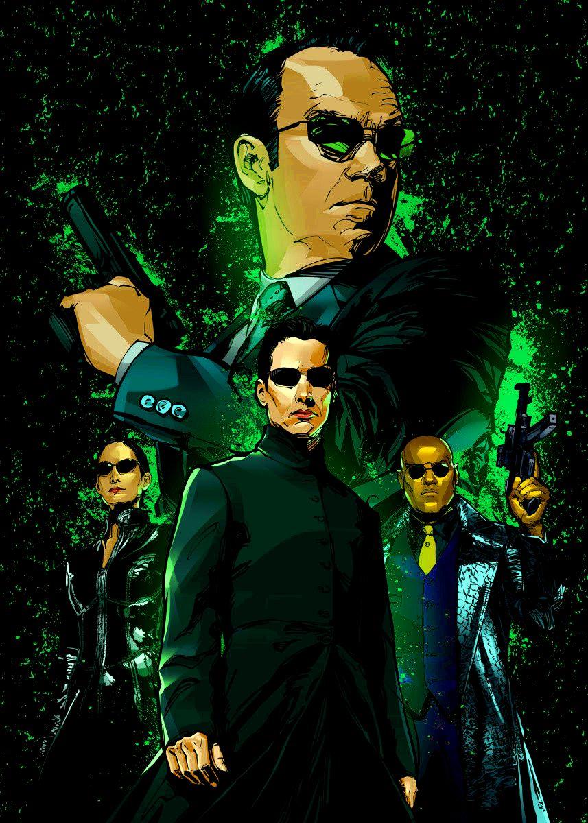 Обои the matrix, очки, матрица, hugo weaving, agent smith. Фильмы foto 13