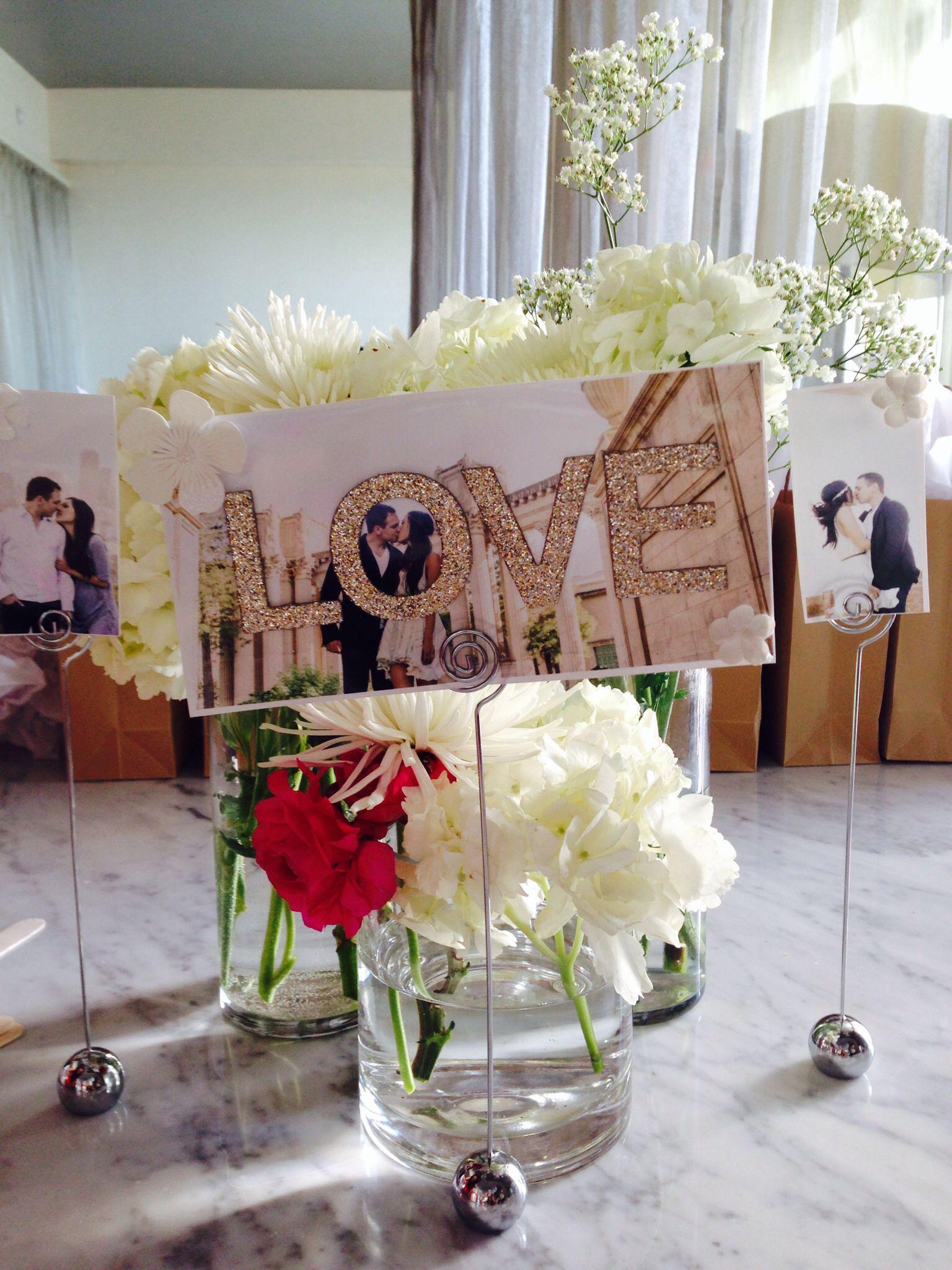 Cute Wedding Shower Decorations : Cute bridal shower ideas