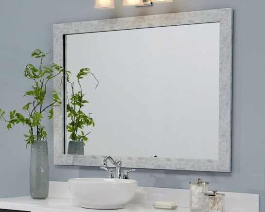 Frame A Bathroom Mirror, Framing Existing