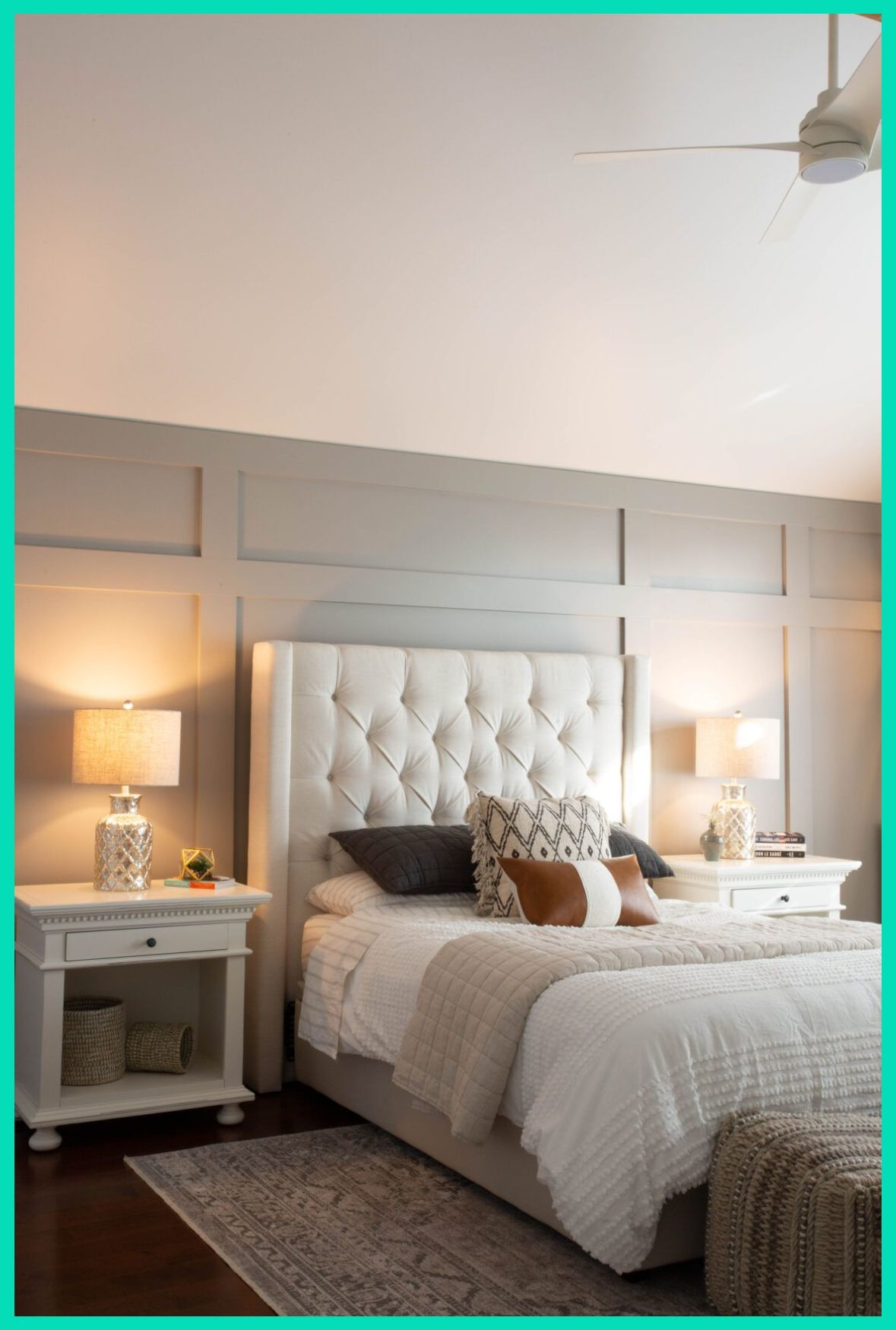Deer Shiloh Master Bedroom Project Clark Aldine Wall Paneling Ideas Bedroom How To In 2020 Master Bedroom Inspiration Master Bedroom Accents Bedroom Panel