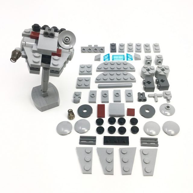 poseable micro millennium falcon instructions falcons lego and legos