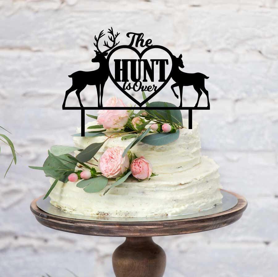 Brcohco Acrylic LOVE Cake Topper Wedding Couple Decoration for Engagement Bridal Shower Gold
