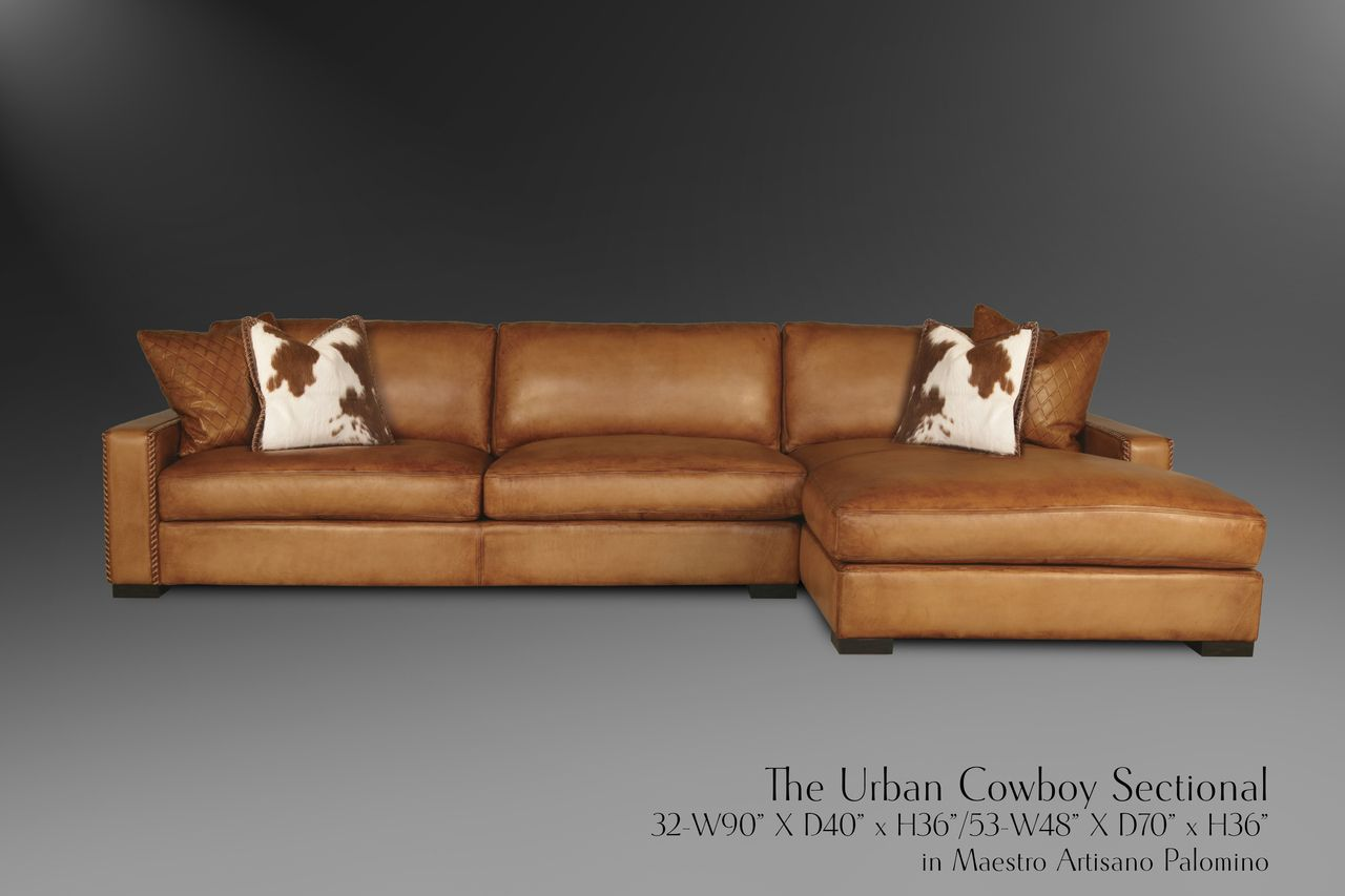 Custom Leather Palomino Chaise Couch Leatherpes Presidential Urban Cowboy Maestro O 8 140 00 Http