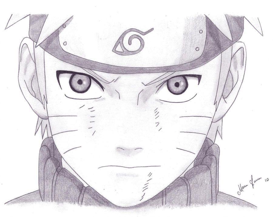 Naruto By Malleymalos Arte Naruto Arte Anime Esboco De Anime