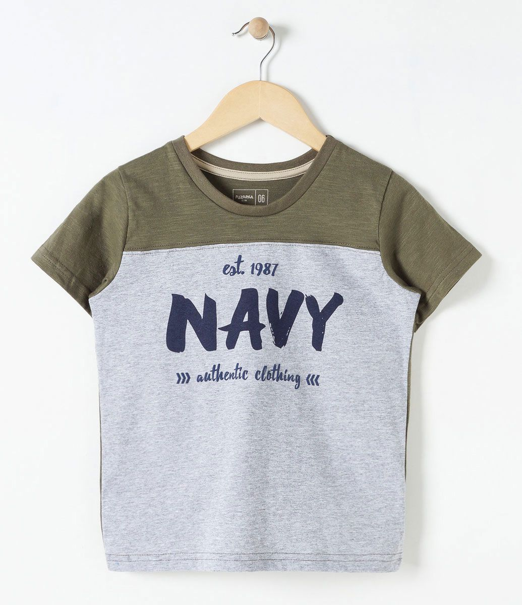 Camisa Infantil Básica Tam 4 a 14