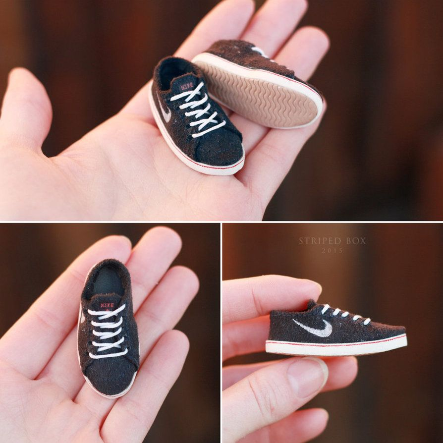 1/6 Nike Shoes for a Doll by striped-box