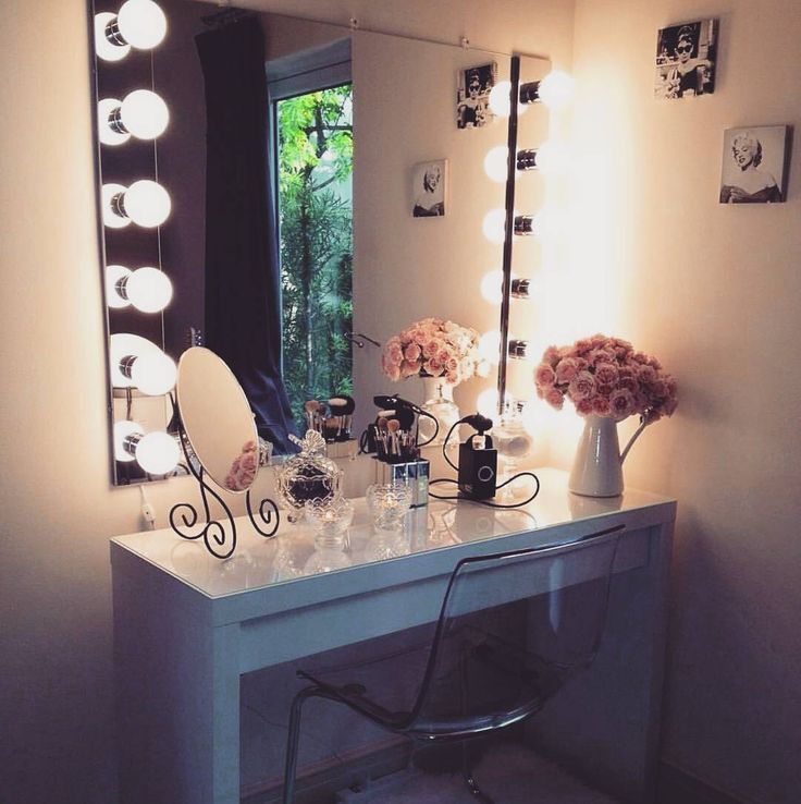 Makeup vanity tumblr images galleries for Beauty table tumblr