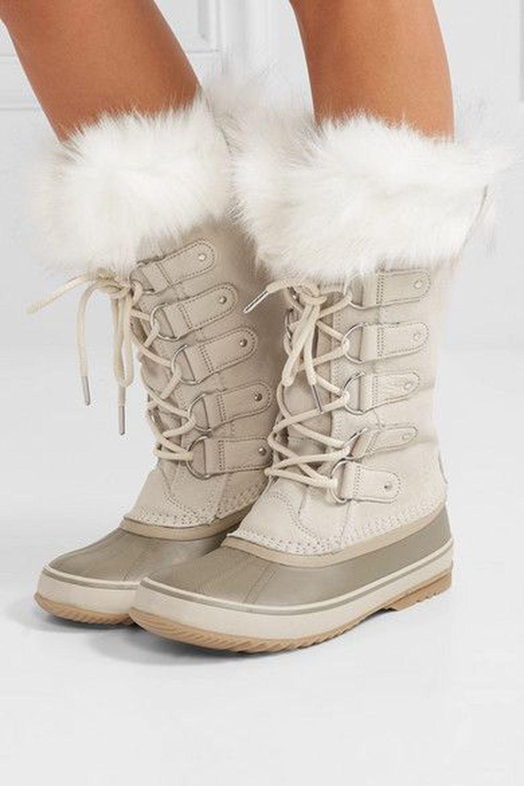 Winter wedding boots
