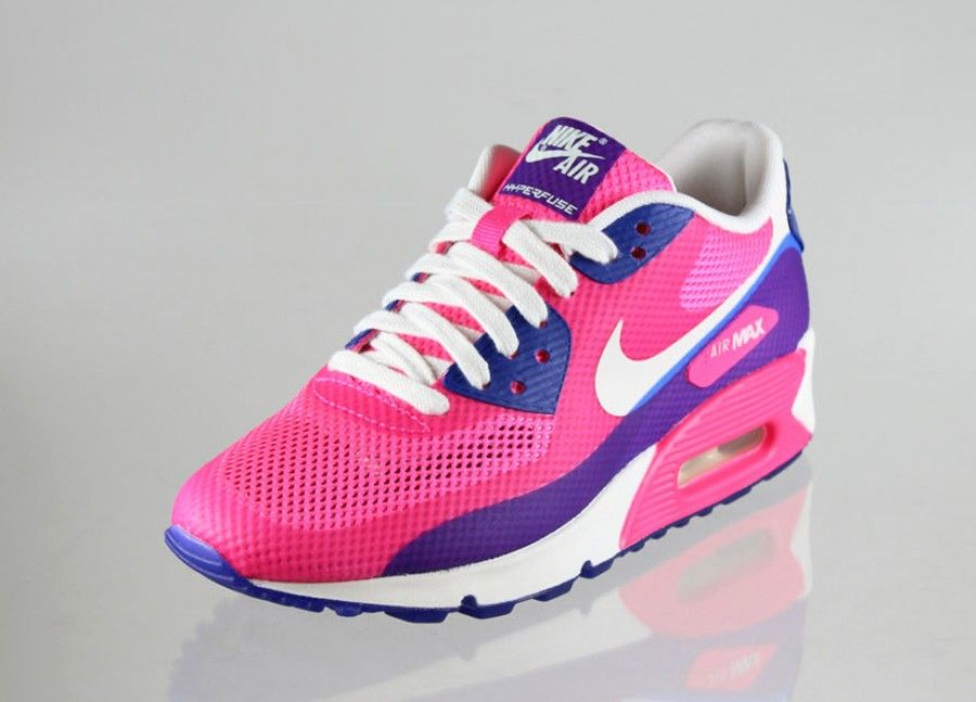 new arrivals 7fe5d 0961b Nike Air Max 90 HYP PRM wmns (Pink Flash   Sail - Pink Flash - Hyper Blue)  - Air Max - Sneaker   asphaltgold