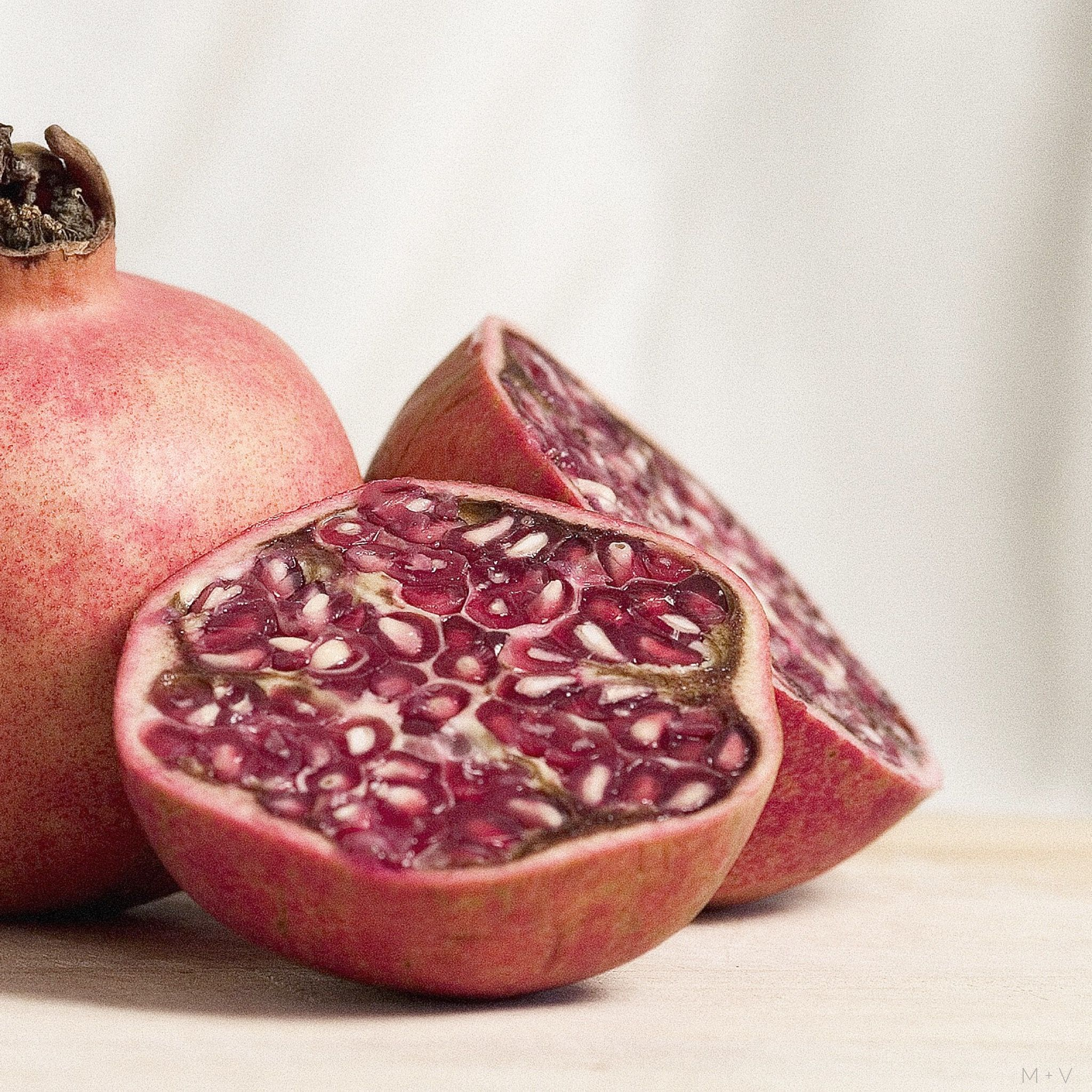 pomegranate juice is vitamin rich containing more than 100
