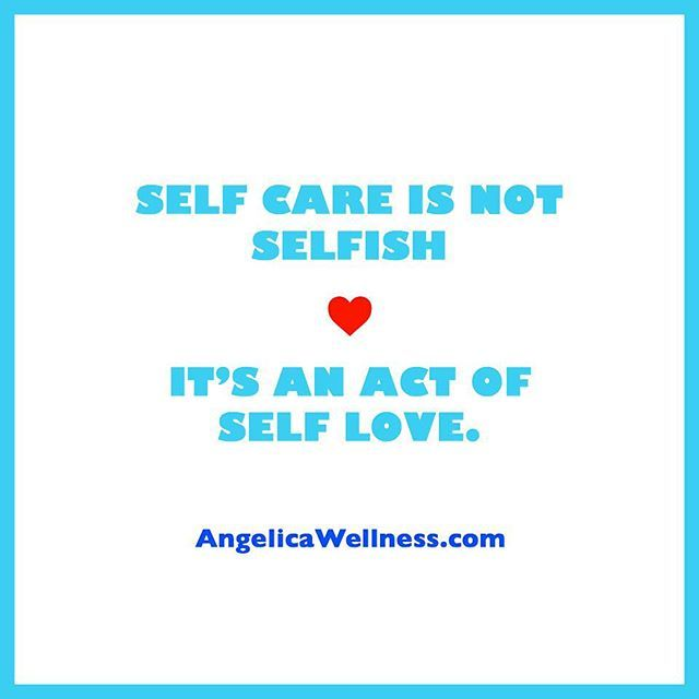 Self care is an important part of taking care of your health and well-being. It's not selfish. When you take good care of yourself and fill your tank from within you have more energy to give to others and you can show up as your best self in all areas of your life. ❤️ #SelfCare #SelfLove #WellnessLifestyle #yogaasmedicine #Yoga #meditation #wellness #wellnesscoach #angelicawellness #healthyliving #healthychoices